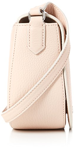 Ecco Damen Kauai Small Saddle Bag Umhängetasche, 7.5x15x16 cm Pink (Red)