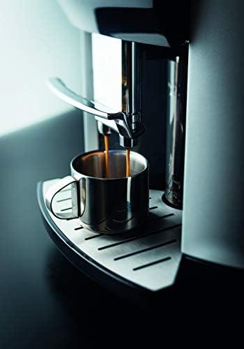 KRUPS ESPRESSERIA LATT ESPRESS SILVER Machine à café à grain Machine à café broyeur grainCafetière expresso Machine à café grains Cappuccino One-touch-Cappuccino Nettoyage automatique YY4201FD