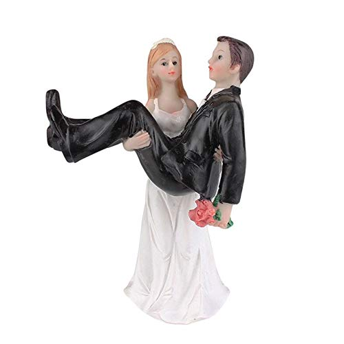 Decorative Decorative - 1 White Black Resin Bride Holding The Groom Decoration Ornaments Doll Size 9 8 13cm - Room Living Decorative Christmas Bowls Ornaments - Sd Model Resin
