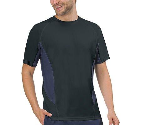 Fila Mens Core Color Blocked Crew T-Shirt S Black