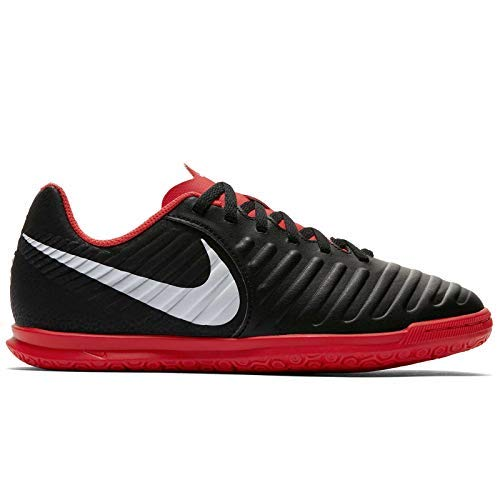 gend 7 Club Indoor Soccer Shoes (4.5, Black/Red) ()