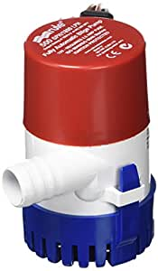 amazon.com : rule 25s submersible bilge pump, 500 gallon ... rule 750 gph automatic bilge pump wiring diagram