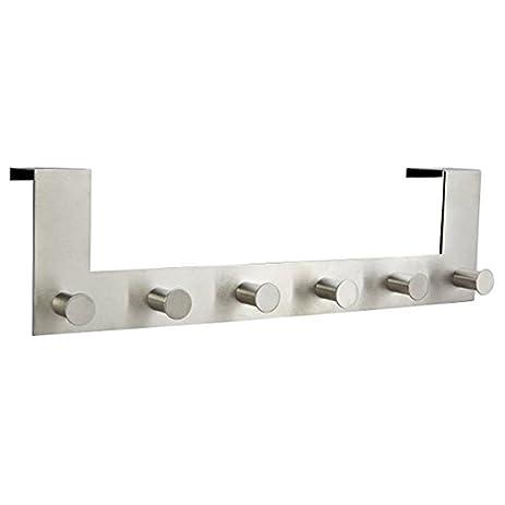 Over The Door Hook Hanger, Adv One Kitchen Stainless Steel Pegboard Hooks,  Heavy