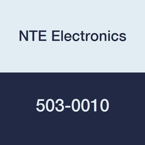 NTE Electronics 503-0010 Series 503 Turns Counting Dial, Vernier Scale Numeric Display, 15 Turns, Black Trim/White Marking, Satin Chrome Finish, 0.875'' Diameter, 0.25'' Shaft Diameter