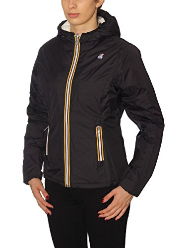 K-way K002II0, Plus Women's Double Jacket Black