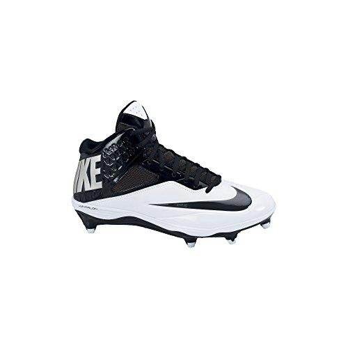 Menn Nike Lunar Kode Pro 3/4 Avtakbar Fotball Klamp Svart / Hvit Svart / Hvit / Antrasitt