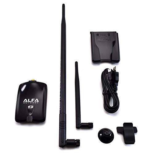 Alfa AWUS036NHA Wireless N USB Adapter Atheros AR9271 + 9dBi Antenna + U-Mount Alfa Network Inc.