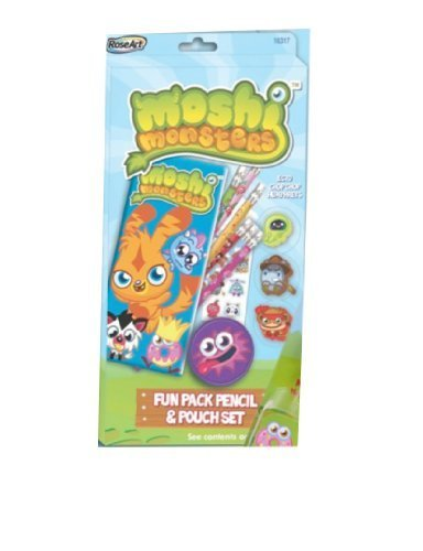 Moshi Monsters Fun Pack Pencil & Pouch Set