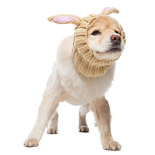 Zoo Snoods - The Original Knit Jack Rabbit Dog Snood