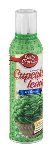 Betty Crocker Cupcake Icing Ivy Green, 8.4 OZ (Pack of 6) by Betty Crocker