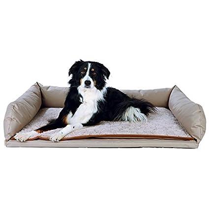 Trixie Maletero Cama para perro beis, 95 × 75 cm, beis