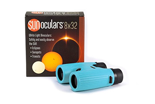 Sunoculars-Blue with 8x the magnification of Eclip...
