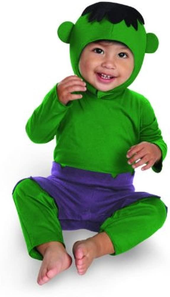 Disfraz DI52100-XL Ni-os Infantes Hulk Kutie vestuario ...