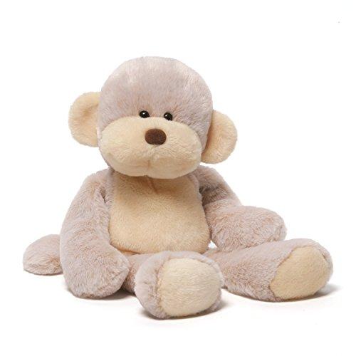 GUND Burney Monkey Take Along Stuffed Animal Plush, 14