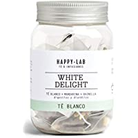 Happy-Lab White Delight Té Infusión - 14 pirámides