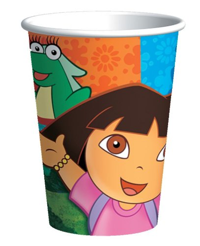 Dora & Friends 9 oz. Paper Cups (8 count) by American Greetings