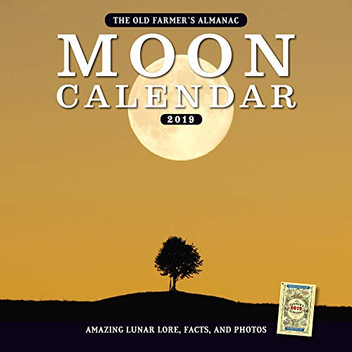 The Old Farmer's Almanac 2019 Moon Calendar
