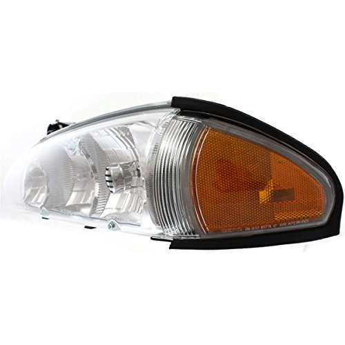 Pontiac Bonneville Headlight Lh Driver - Diften 114-B0180-X01 - 96-99 Pontiac Bonneville Headlight Headlamp LH Left Driver Side