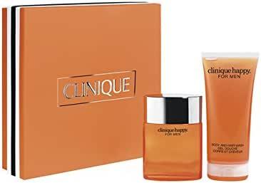 Clinique - Estuche de regalo eau de cologne happy for men: Amazon.es: Belleza