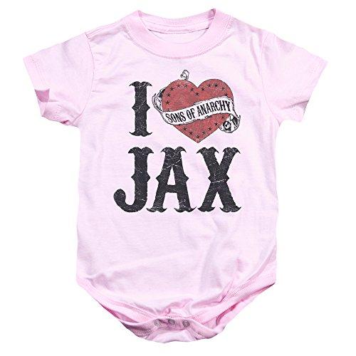 Amazoncom I Heart Jax Sons Of Anarchy Infant One Piece