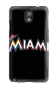 Galaxy Note 3 Case Cover Miami Marlins Case - Eco-friendly Packaging