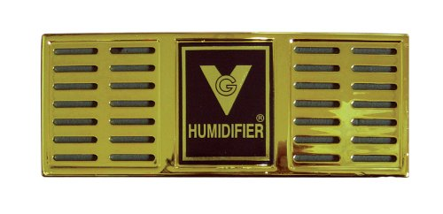 Prestige Import Group Humidifier 6-1/2' x 2-1/2' Rectangle (Gold) H400/G
