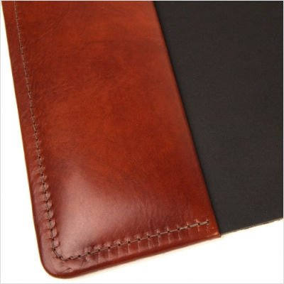 Bosca Old Leather Home Desk Pad (Cognac) by Bosca