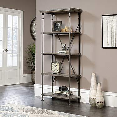 Sauder Canal Street 5-Shelf Bookcase, Northern Oak finish