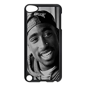DIY Hard Plastic Case Cover for Ipod Touch 5 Phone Case - Tupac Shakur HX-MI-053901