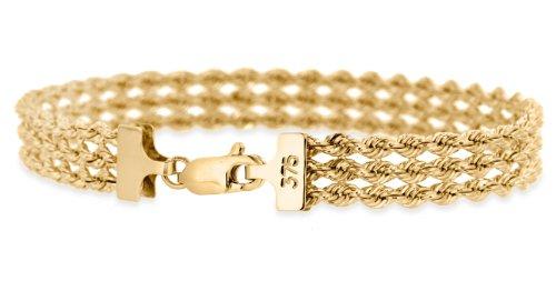 Carissima Gold - Bracelet - 1.22.0201 - Femme - Or Jaune 375/1000 (9 Cts) 4.95 Gr