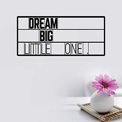 ickers for Living Room Dream Big Little One ()