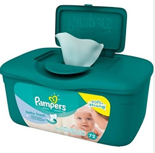 Pampers SoftGrip Texture refreshing Refreshing product image
