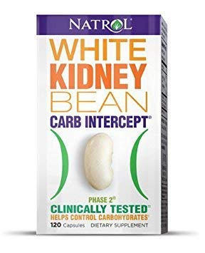 Natrol White Kidney Bean Carb Intercept 120 Caps