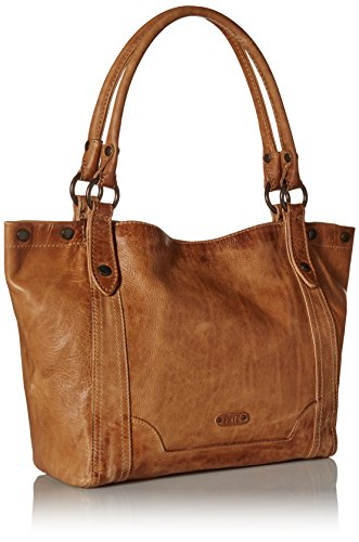 Beige Leather FRYE Melissa Handbag Shoulder x8XInvqIE