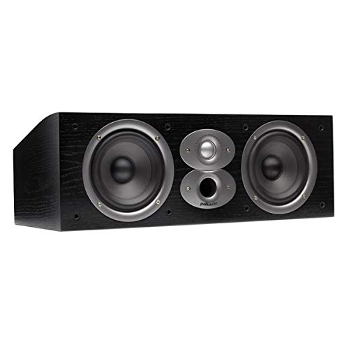 Polk Audio CSI A4 Center Channel Speaker (Single, Black)