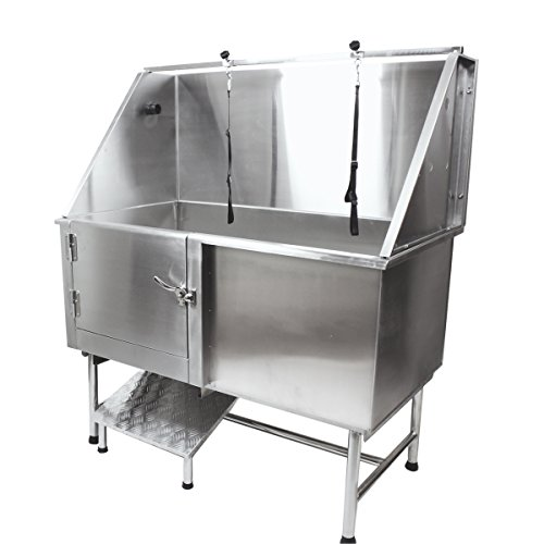 Flying Pig Grooming 50 Quot Stainless Steel Pet Dog Bath Tub