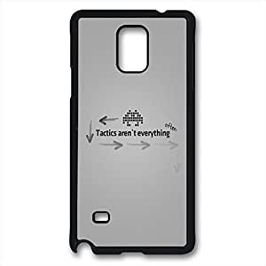 Samsung Galaxy Note 4 Case, iCustomonline Stay Hungry Stay Foolish Designed Case for Samsung Galaxy Note 4 Hard Black