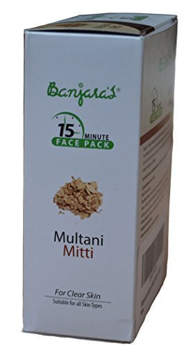 Fullers-Earth-Clay-Multani-Mitti-Powder-Indian-Clay-Face-Mask-1-x-100-gm-by-Banjaras