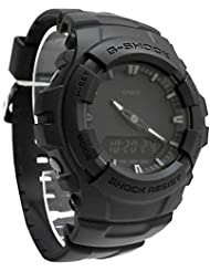 Casio G-shock Mens Black Out Series Analog Digital watch G100BB-1A