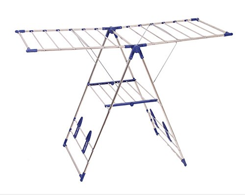 Heavy Duty Stainless Steel Gullwing Clothes Drying Rack