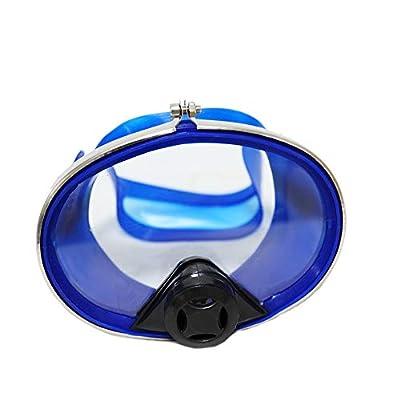 HPDAVV 100ft PVC Air Hose,145PSI Scuba Diving Regulator,Adult Diving Mask,Octopus Hookah with Mouthpiece,Free Flow Resistant,M10×1