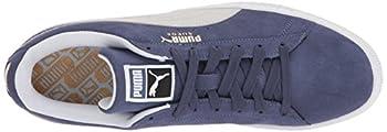 Puma Suede Classic Sneaker, Blue Indigo White, 9.5 M Us 7