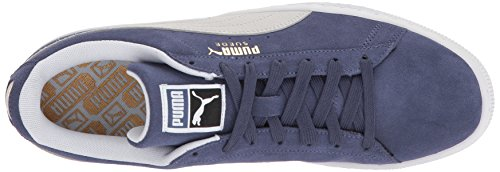 Suede Classic Sneaker puma White PUMA Indigo Blue C7wTdnqqH