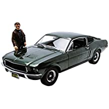 1/18 Bullitt 1968 Ford Mustang GT Fastback Green