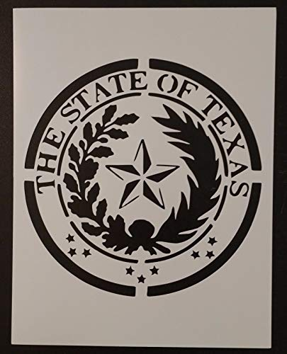 OutletBestSelling Reusable Sturdy State Seal of Texas 8.5
