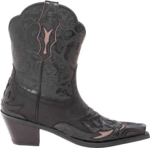 Ariat Mujeres Dahlia Western Cowboy Bota Pitch Negro