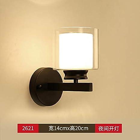 Agorl Nordic Lampe De Chevet Applique Murale Chambre Simple