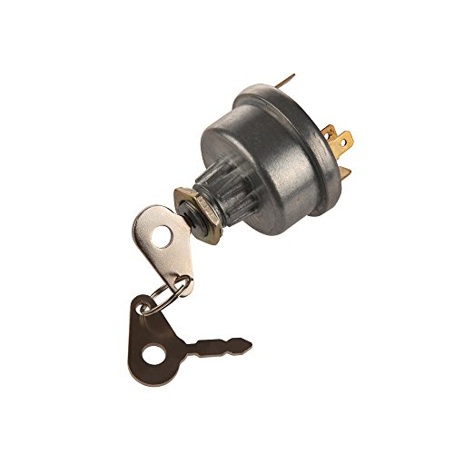 Midiya 3107556R92, K203992 Ignition Switch with 2 Keys for Lucas, David Brown,Backhoe Loader,Universal Car, Tractor,Trailer, agricultura, plant -