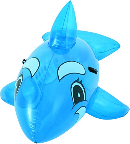 H2OGO! Whale Rider Inflatable Pool Float Whale Inflatable Pool