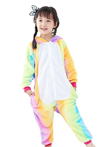 Pegasus Horse Costume (TOKYO-H Kids Animal Sleepwear Kigurumi Costume (M for Height 52
